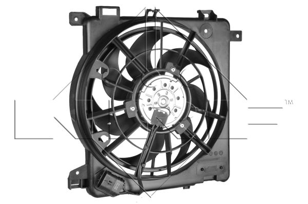 ventilateur refroidissement du moteur pour opel zafira van 1 7 cdti 125cv wda. Black Bedroom Furniture Sets. Home Design Ideas
