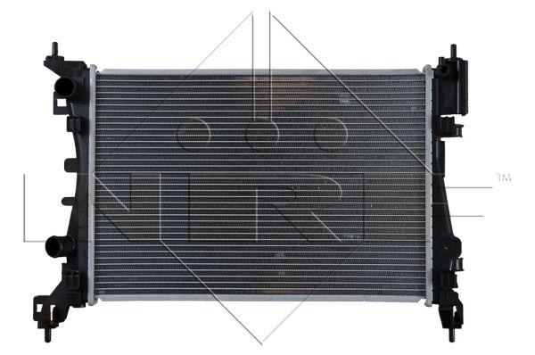 radiateur refroidissement du moteur nrf 55341 wda. Black Bedroom Furniture Sets. Home Design Ideas