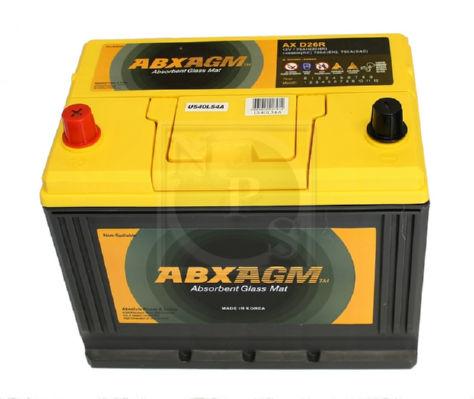 Batterie voiture NPS U540L54A d'origine