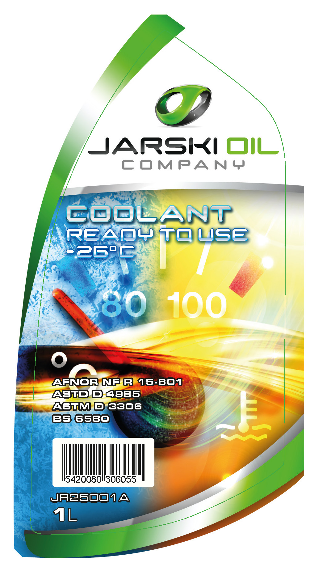 Liquides refroidissement JARSKIOIL JR25001A d'origine