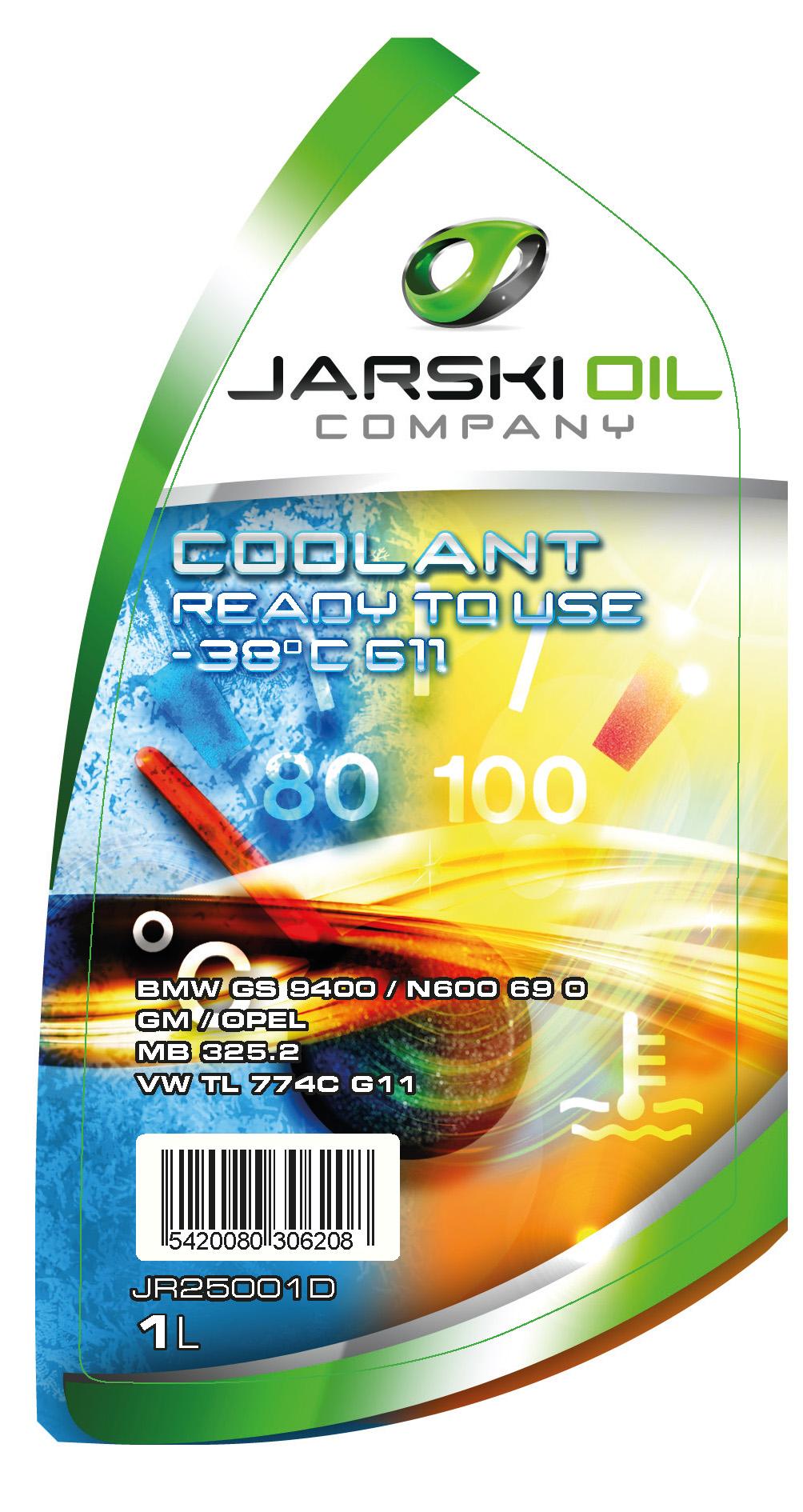 Liquides refroidissement JARSKIOIL JR25001D d'origine