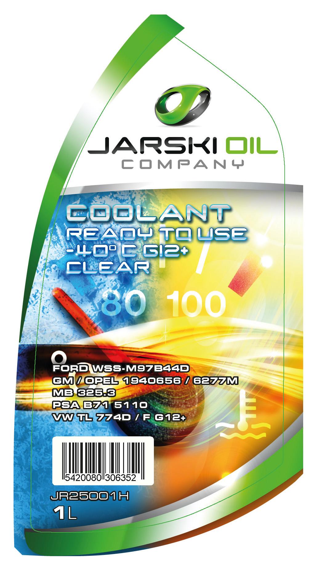 Liquides refroidissement JARSKIOIL JR25001H d'origine