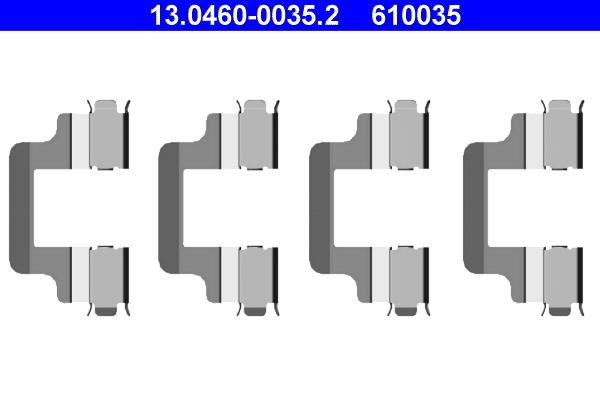 kit d 39 accessoires plaquette de frein disque pour volkswagen passat vi 3c2 1 9 tdi 105cv wda. Black Bedroom Furniture Sets. Home Design Ideas