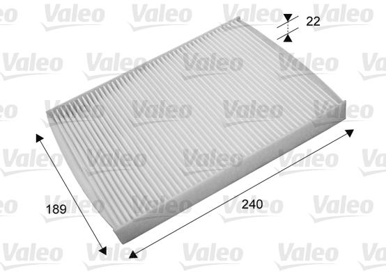 filtre air de l 39 habitacle pour ford b max wda. Black Bedroom Furniture Sets. Home Design Ideas