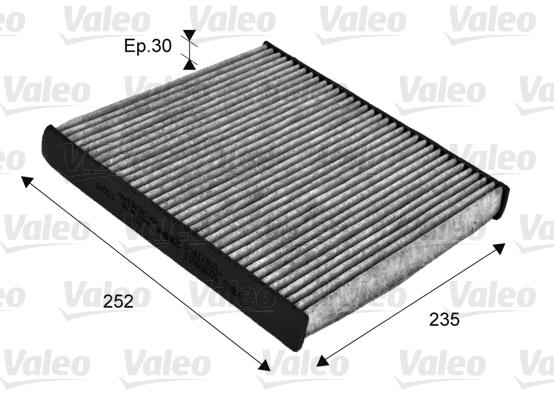 filtre air de l 39 habitacle valeo 715720 wda. Black Bedroom Furniture Sets. Home Design Ideas