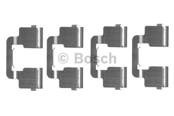 kit d 39 accessoires plaquette de frein disque bosch 1 987 474 458 wda. Black Bedroom Furniture Sets. Home Design Ideas