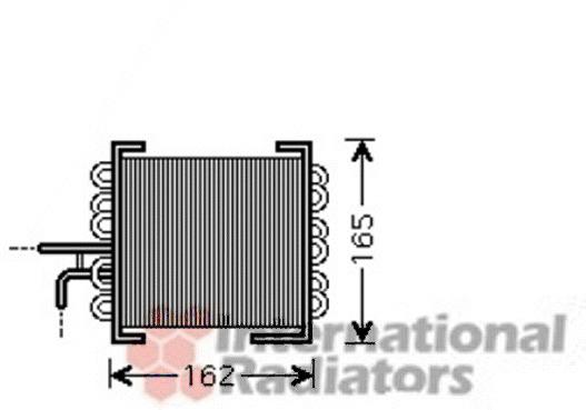 radiateur du moteur pour mercedes benz classe c 203 coupe sport cl203 c 220 cdi. Black Bedroom Furniture Sets. Home Design Ideas