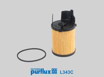 filtre huile purflux l343c wda. Black Bedroom Furniture Sets. Home Design Ideas