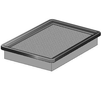 filtre air purflux a1332 wda. Black Bedroom Furniture Sets. Home Design Ideas