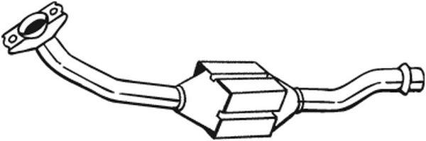 catalyseur pour peugeot 306 break estaten 7e n3 n5 1 9 td 90cv wda. Black Bedroom Furniture Sets. Home Design Ideas