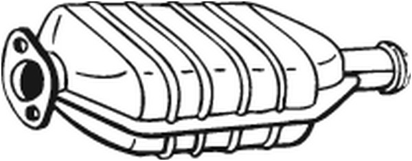 catalyseur bosal 099421 wda. Black Bedroom Furniture Sets. Home Design Ideas