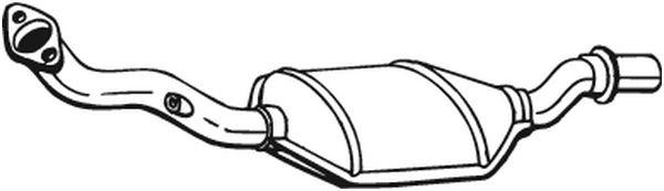 catalyseur pour peugeot 306 3 5 portes 7a 7c n3 n5 2 0 s16 163cv wda. Black Bedroom Furniture Sets. Home Design Ideas