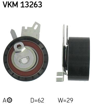 galet tendeur de courroie de distribution pour peugeot 307 cc 2 0 16v 140cv wda. Black Bedroom Furniture Sets. Home Design Ideas