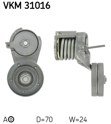 galet tendeur de courroie d 39 accessoires pour volkswagen golf iv variant 1j5 1 4 16v 75cv wda. Black Bedroom Furniture Sets. Home Design Ideas