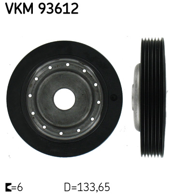 poulie damper pour renault megane i phase 1 2 cabriolet ea 1 6 16v ea0b ea04 ea11 107cv. Black Bedroom Furniture Sets. Home Design Ideas
