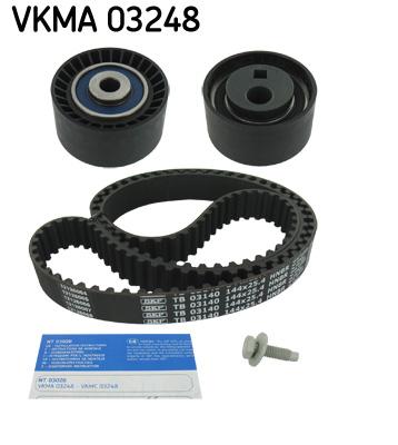 kit de distribution pour peugeot 807 e 2 0 hdi 107cv wda. Black Bedroom Furniture Sets. Home Design Ideas