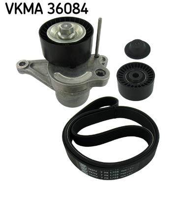 kit de courroies d 39 accessoires pour renault laguna iii 2 0 dci 150cv wda. Black Bedroom Furniture Sets. Home Design Ideas
