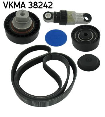 kit de courroies d 39 accessoires pour bmw serie 5 e39 520 i 150cv wda. Black Bedroom Furniture Sets. Home Design Ideas