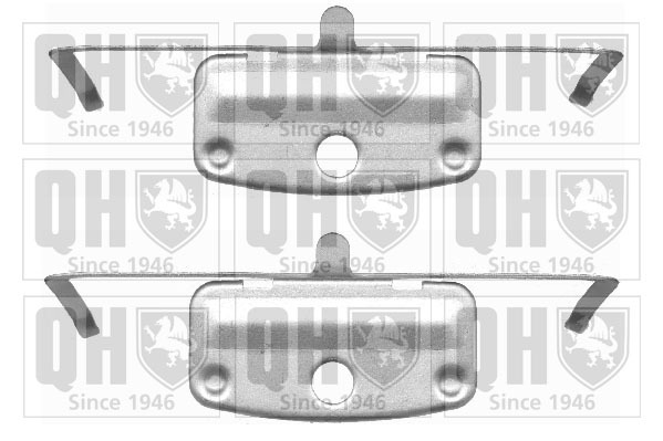 kit d 39 accessoires plaquette de frein disque pour bmw serie 3 e90 320d 163cv wda. Black Bedroom Furniture Sets. Home Design Ideas