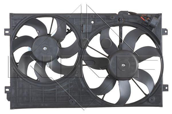 ventilateur refroidissement du moteur pour audi a3 s rie 2 8p 1 9 tdi 105cv wda. Black Bedroom Furniture Sets. Home Design Ideas