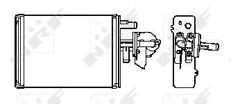radiateur de chauffage pour fiat ducato i phase 2 camion