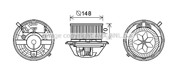 moteur  u00e9lectrique  pulseur d u0026 39 air habitacle pour bmw serie