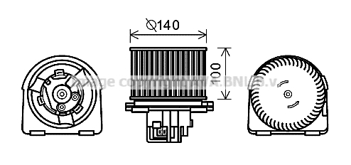 moteur lectrique pulseur d 39 air habitacle pour opel vectra b 3 5 portes 38 2 0 dti 16v 101cv. Black Bedroom Furniture Sets. Home Design Ideas