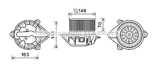 moteur  u00e9lectrique  pulseur d u0026 39 air habitacle pour renault megane scenic i phase 2  ja  fa  1 9 dci